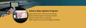 Subaru Map Update Support