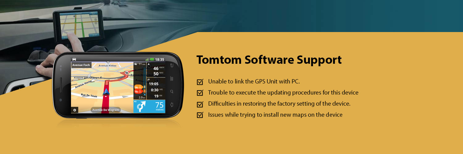 Tomtom software support Online, Tomtom Support Company- Mapsupdates