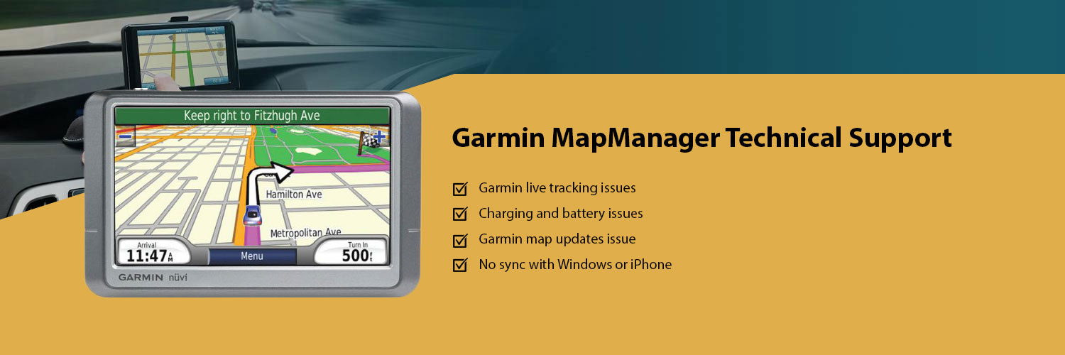 Garmin Map manager support company, Garmin support center USA