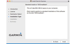 Garmin Express Download and Installation Procedure for Mac Computers